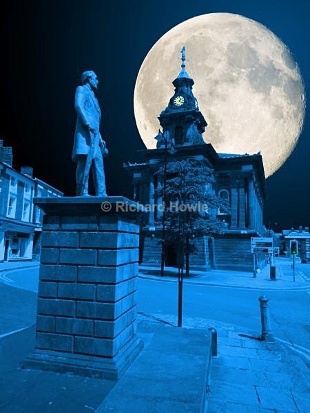 Moonlit Burslem - The Potteries by Moonlight
