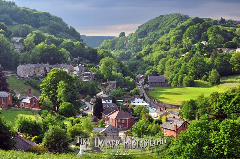 Lydbrook Summer View by Tina Dorner Photography, Forest of Dean and Wye Valley, Gloucestershire