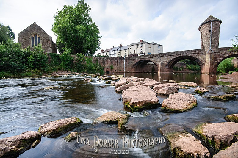 The River Monow, Monmouth