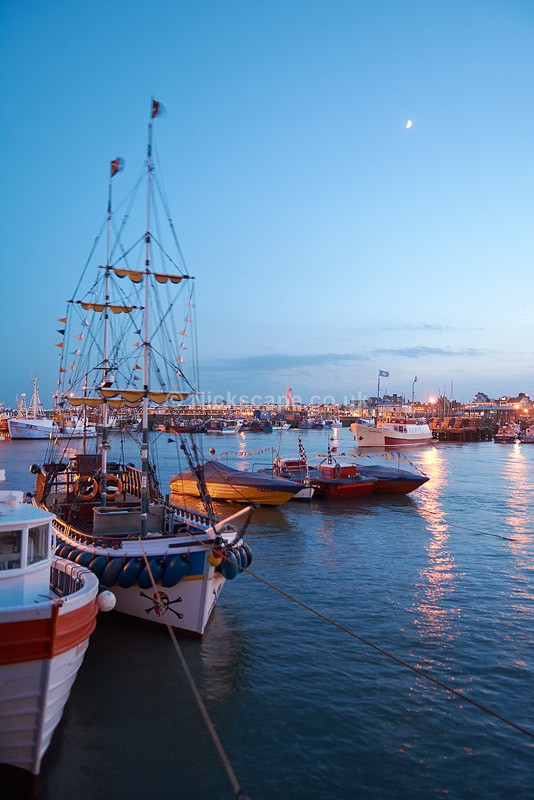 Bridlington Harbour Pirate Ship - Yorkshire - Yorkshire