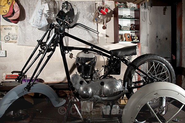 4 - Rudge Motorcycle Restoration