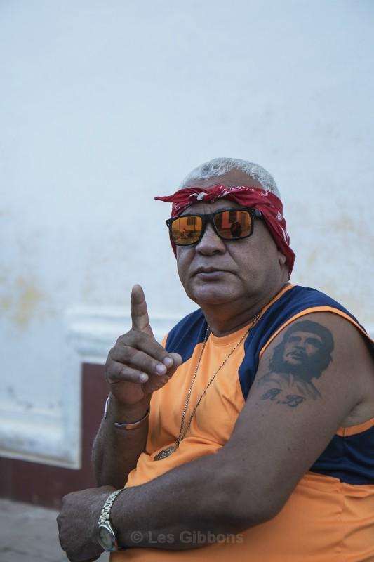 Che tattoo - Cuba