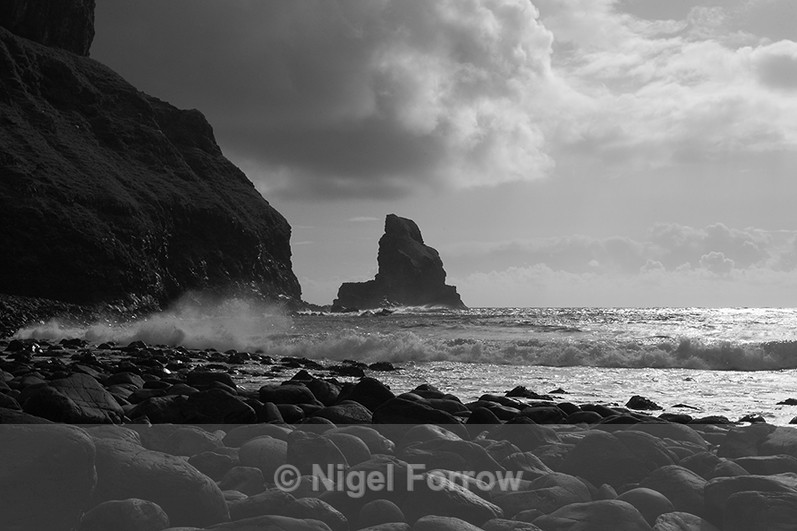 Talisker Point on the west coast of the Isle of Skye - Scotland