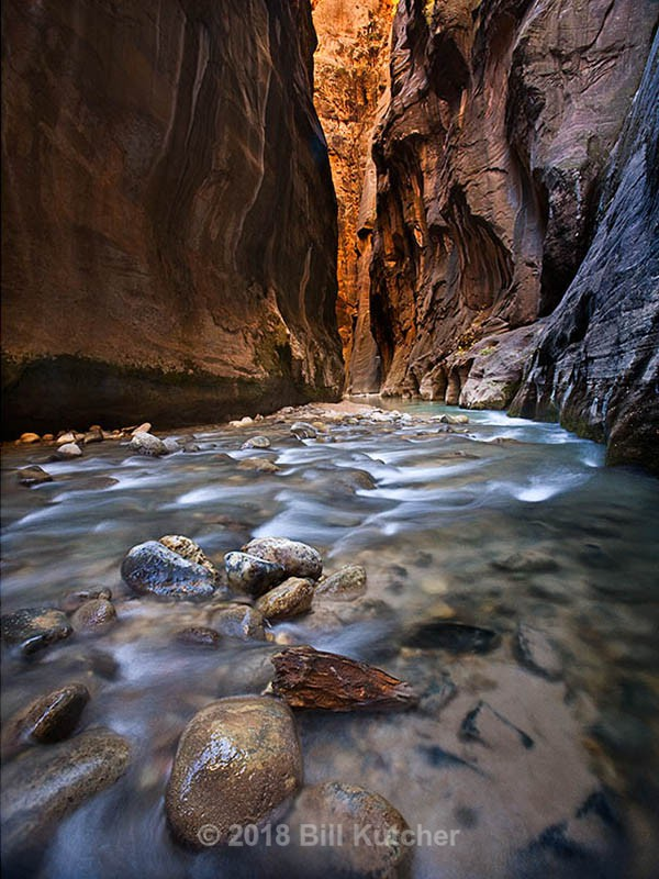 Zion Narrows - Current Show