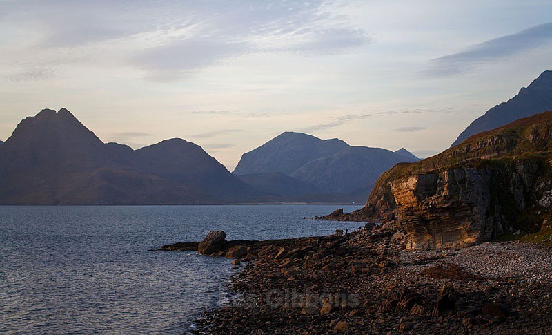 The Cullins from Elgol at sunset - Highlands and Islands