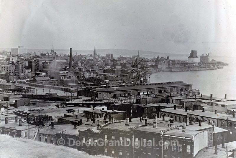 Early 1930s view of Saint John New Brunswick Canada - Historic New Brunswick