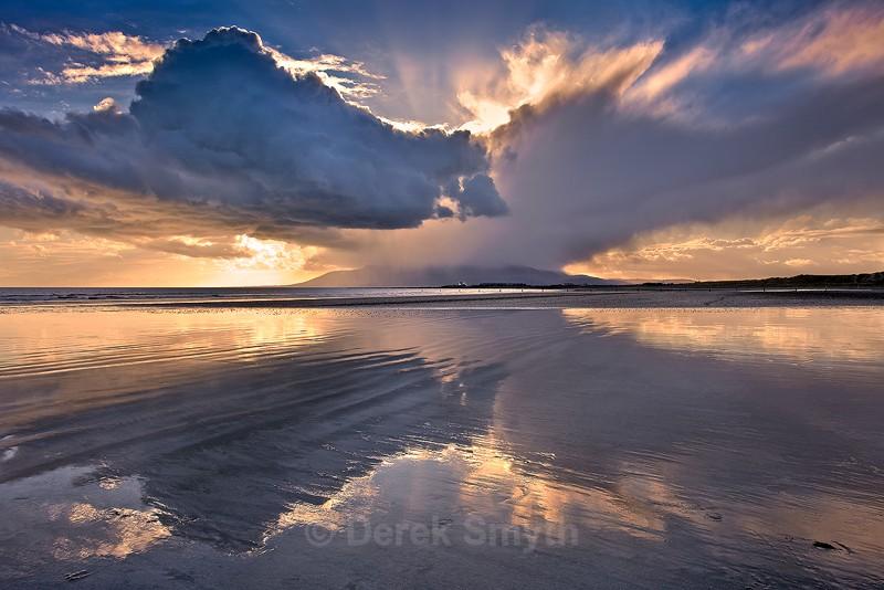 Raincloud at Tyrella Beach