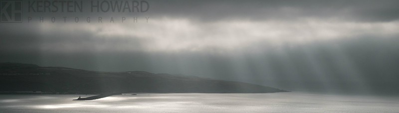 Breaking Through - overlooking Goodwick - Images from book