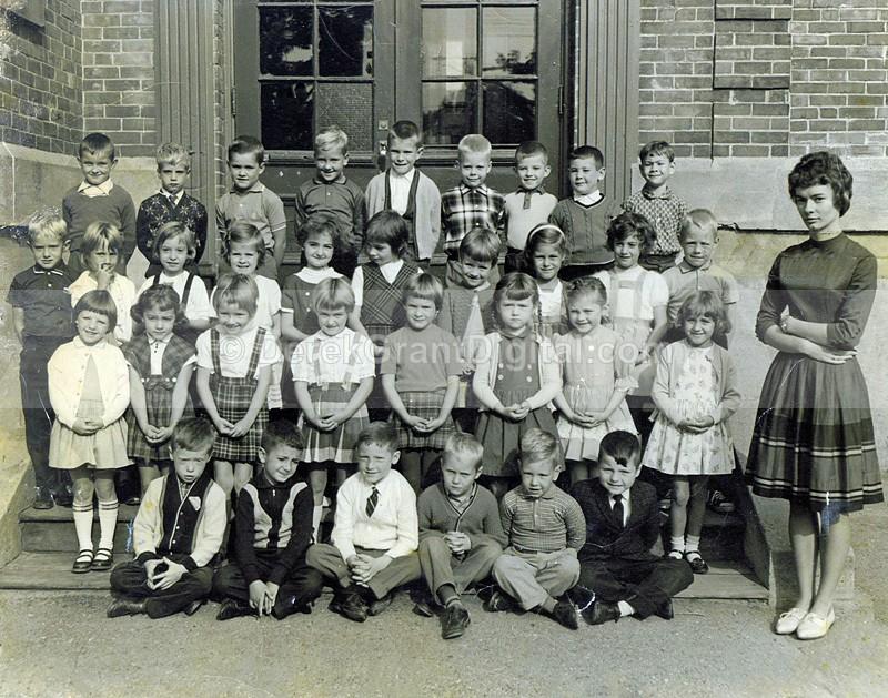 Rothesay Elementary School New Brunswick Canada 1963 Miss Hillman Gr.1 - Historic New Brunswick
