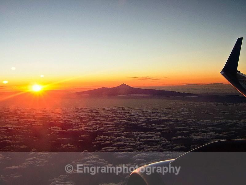 Mount Tiede en route to Gran Canaria-R1871 - Landscapes