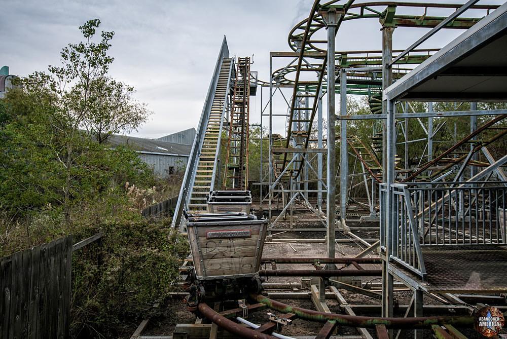 Six Flags (New Orleans, LA) | Muskrat Scrambler Ride - Six Flags New Orleans