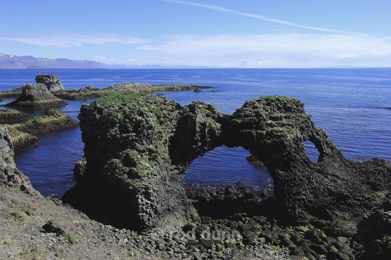 Arnarstapi sea arch - Iceland