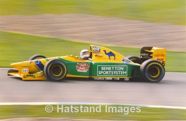 Michael Schumacher, European Grand Prix 1993 - motorsport