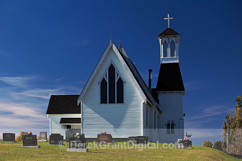 Christ Church Anglican Church Glassville New Brunswick Canada - Churches of New Brunswick