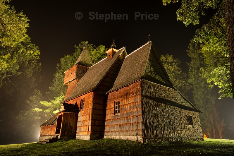 Wooden Church in Poland | Poland Churches | Night Photography