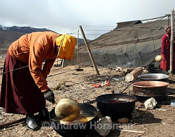 Monks Making Tea 3 - Travel 2