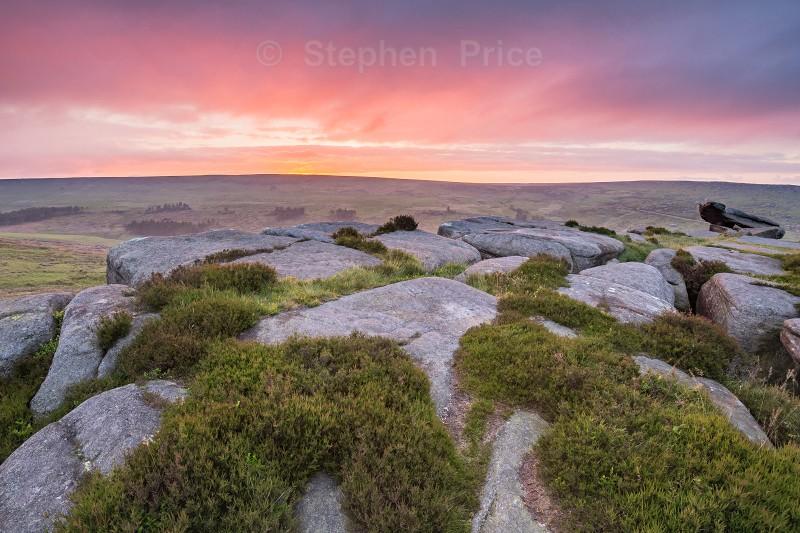 Peak District Sunrise | Carl Wark Dawn Sunrise
