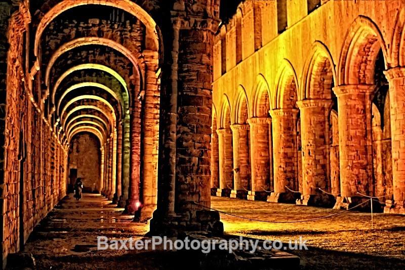 Rain, Ruins And Light - Fountains Abbey