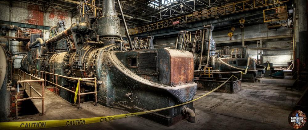 Bethlehem Steel (Bethlehem, PA) | Gas Blowing Engine House - Bethlehem Steel