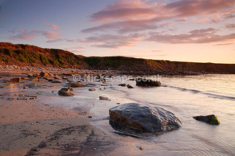 Sunset at Whitley Bay | North Tyneside Seascape Photogrphy
