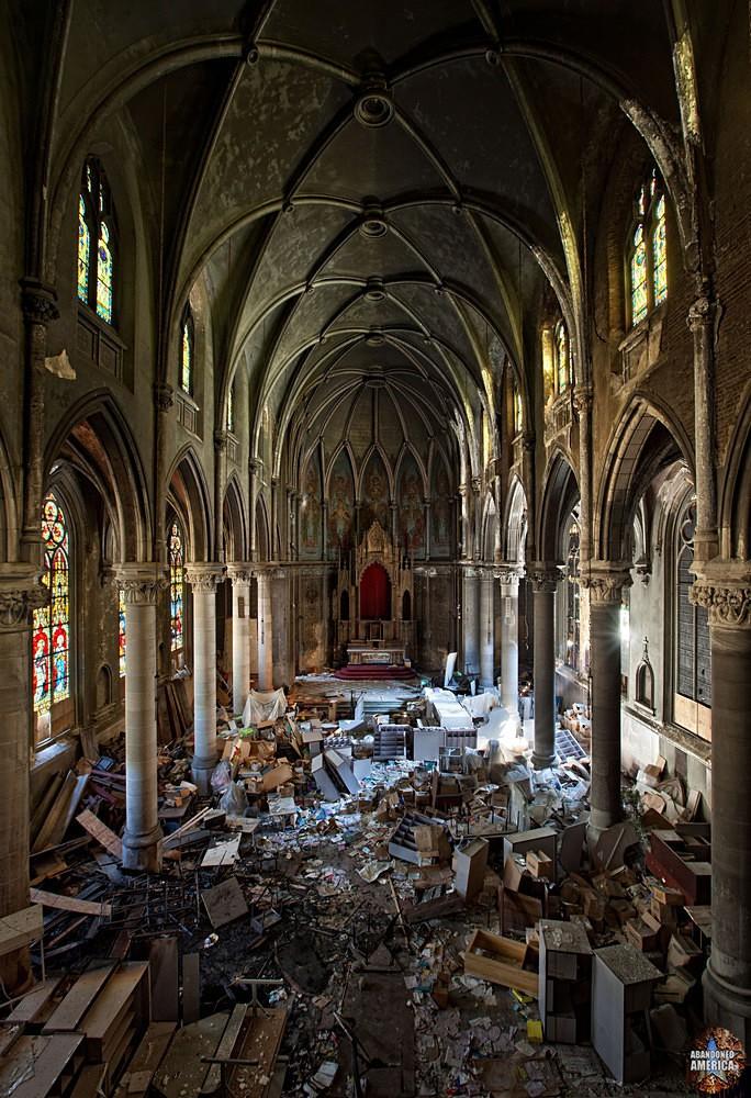 Abandoned church  | Abandoned America