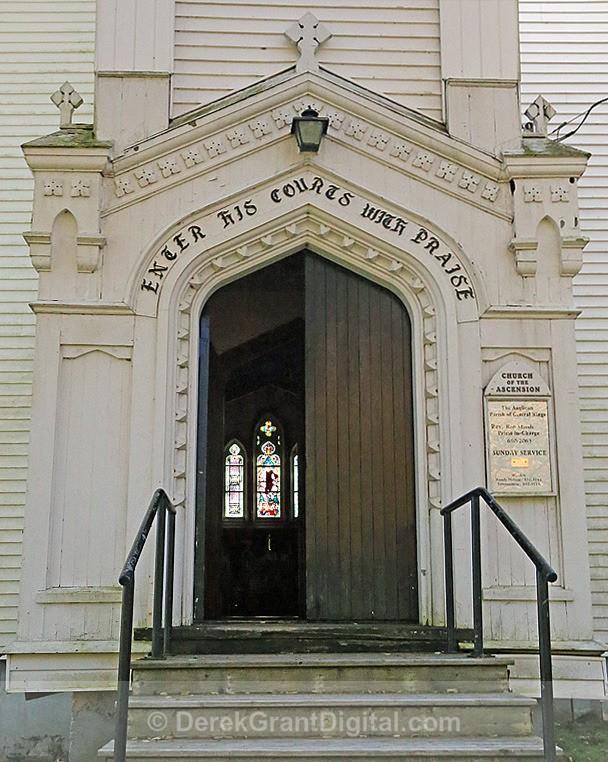 Church of the Ascension - 2 Hampton, New Brunswick Canada - Churches of New Brunswick