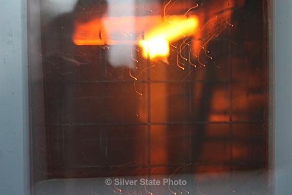 Through the looking glass- small fire - Fallon/Churchill Fire Department