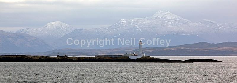 Beinn a Chochuill & Ben Cruachan from Lynn Of Lorne, Argyll & Bute - Panoramic format