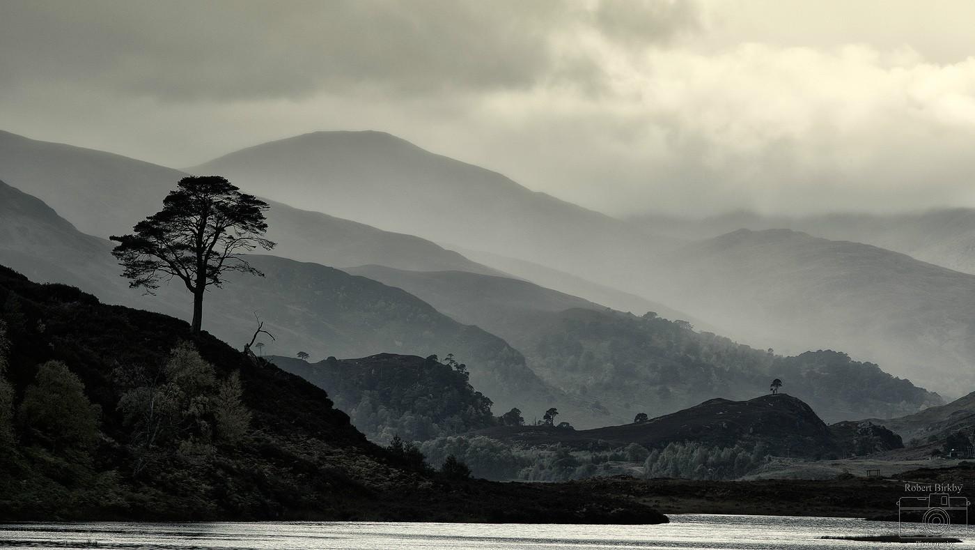 Strathfarrar Layers - Scotland Landscapes (also see Seascapes portfolio)