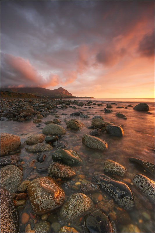 Red Rock Beach - Photographs of Wales