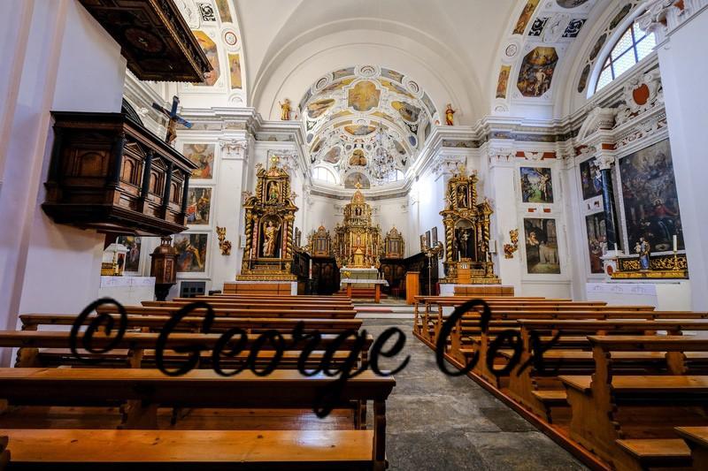 Church of St Stefan Tiefencastel - Switzerland