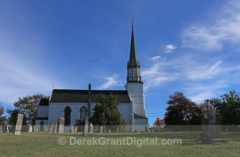 Trinity Church Kingston New Brunswick Canada - Churches of New Brunswick