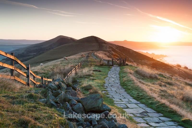 Great Ridge Sunrise_2490 - The Peak District
