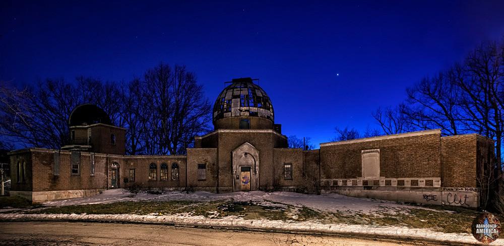 Warner Swasey Observatory (Cleveland, OH) | Light Pollution - The Warner and Swasey Observatory