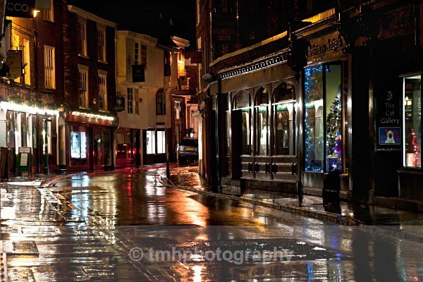 Low Petergate. - Low Light Photography