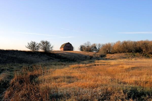 Autumn Peace - Barns & Remnants