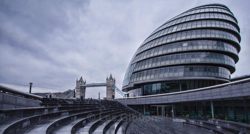 city hall -winter - London