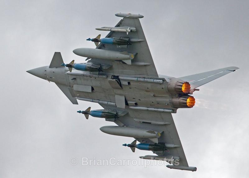 RAF Eurofighter Typhoon - RAF Fairford RIAT 2009 - 2014 Airshows