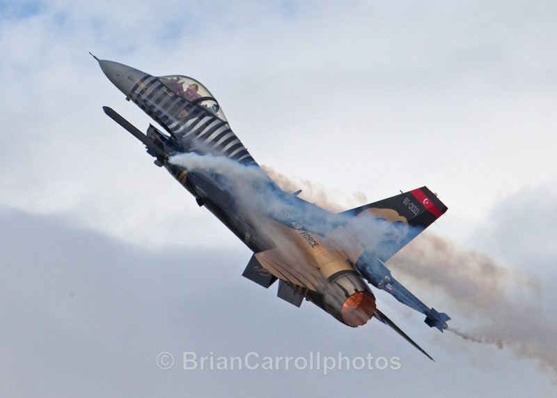 General Dynamics/Lockheed Martin F-16 Turkish Air Force - RAF Fairford RIAT 2009 - 2014 Airshows