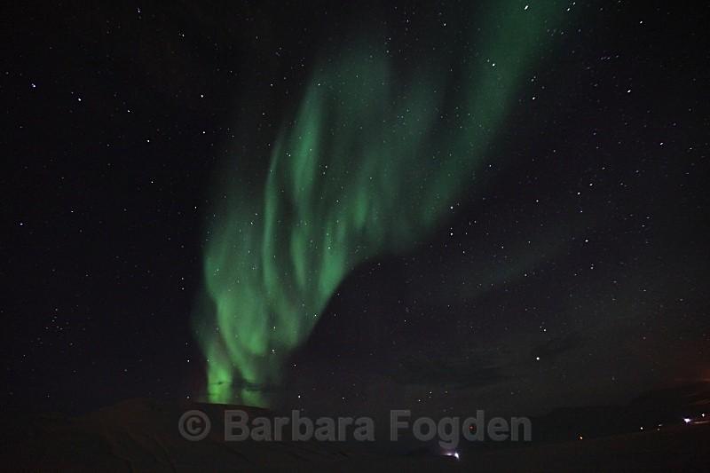 Northern Light in Adventdalen 5404 - Polar night