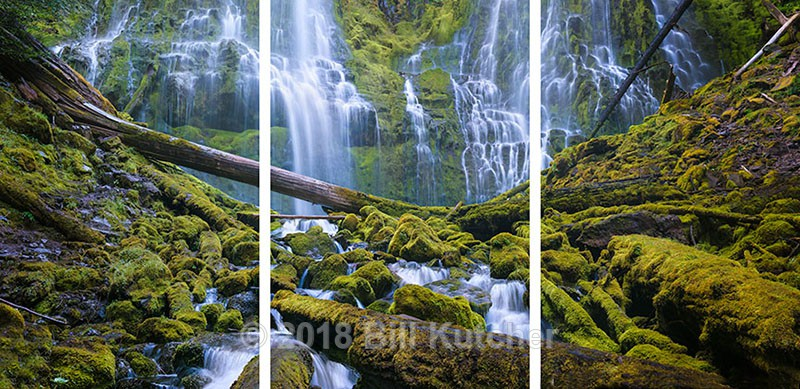 Proxy Falls Triptych - Current Show