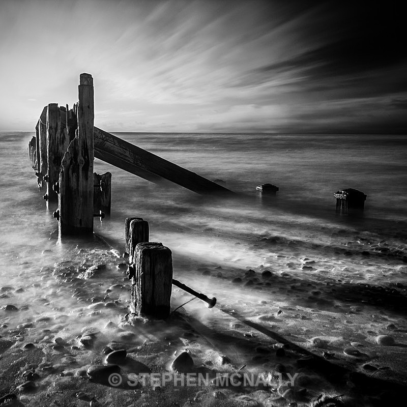 Windy Spurn Point - Seascapes