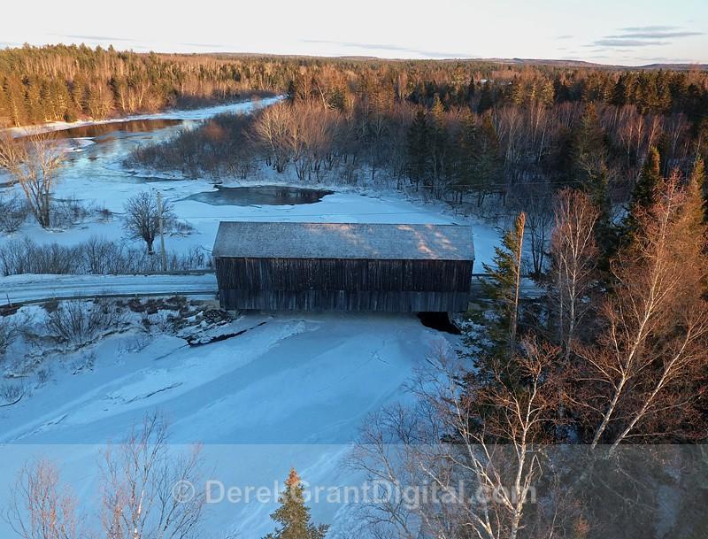 Digdeguash Covered Bridge #6 Dumbarton Charlotte Country New Brunswick - Covered Bridges of New Brunswick