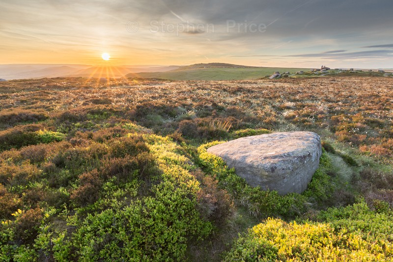 Higger Tor Sunset | Peak District Landscape Photography