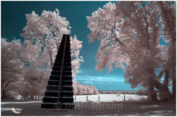 Stairway - infra-red