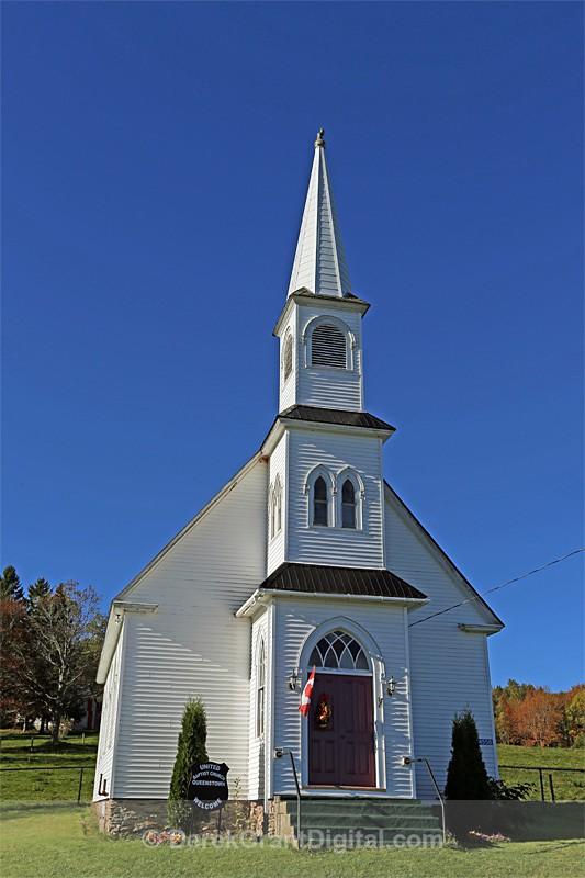 Queenstown United Baptist Church New Brunswick Canada - Churches of New Brunswick