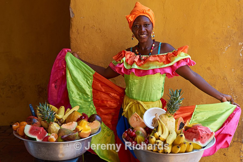 Fruit Seller - Colombia
