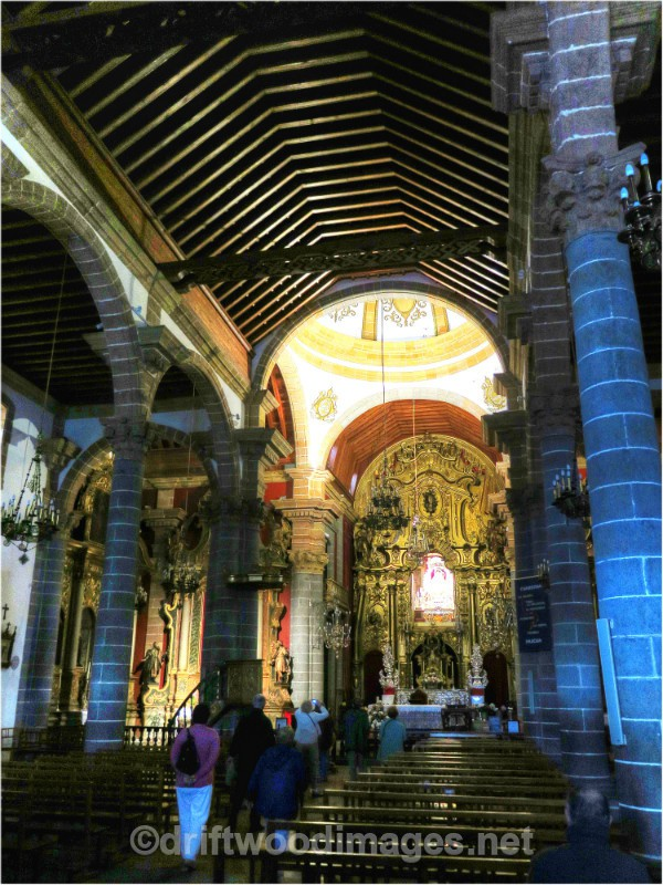 Gran Canaria Aruca cathedral interior - Gran Canaria