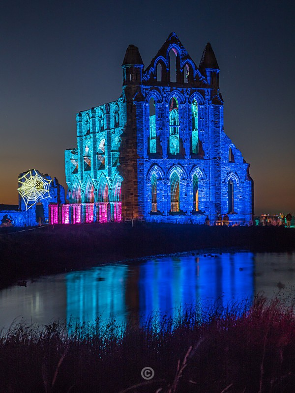 Whitby Abbey Illuminated - Whitby