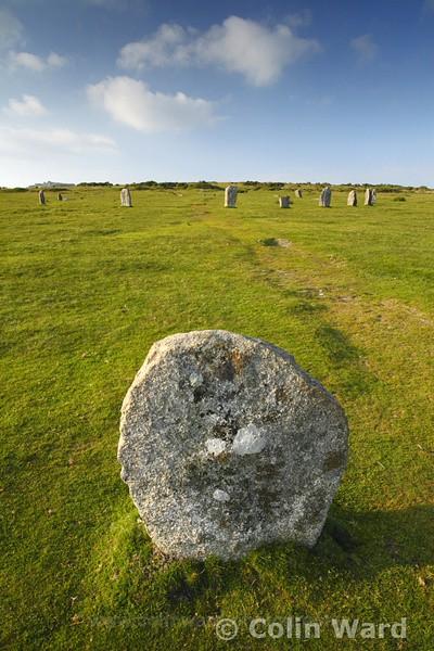 Hurlers Stone Circle, Bodmin Moor. Ref 2774 - Cornwall